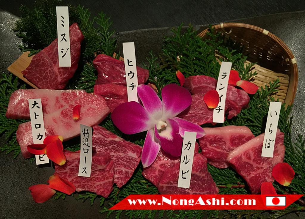 Course Menu Matsusakagyu Yakiniku M