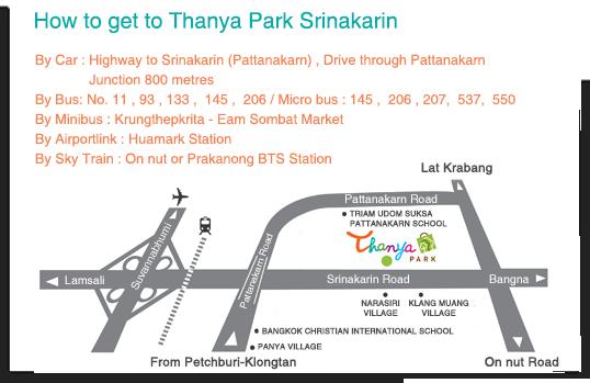แผนที่ Thanya Park
