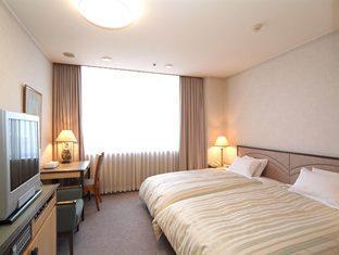 ห้องนอน Kanazawa Miyako Hotel