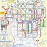 แผนที่รถบัสเมืองเกียวโต